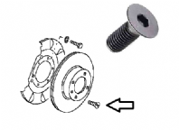 Mk1 Mk2 Golf Front Brake Disc Screw